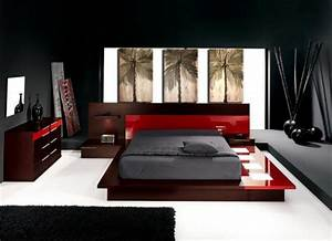 15 stylish asian bedroom ideas house design and decor With chambre rouge et noir