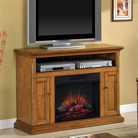 electric fireplace media cabinet cannes 23 quot antique oak media console electric fireplace