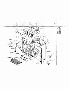 Bosch Hbl455auc Electric Wall Oven Parts