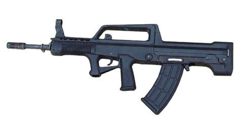 chinese qbz type  bullpup assault rifle