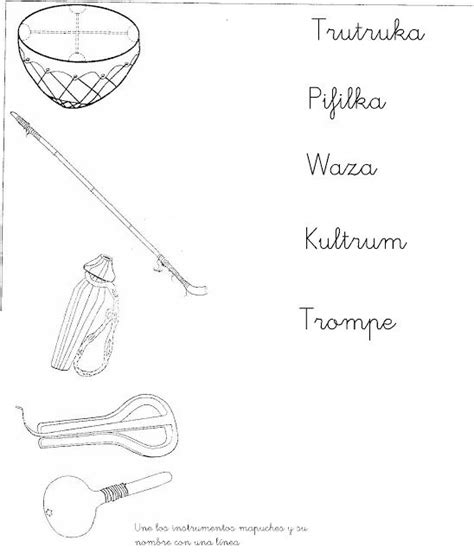 Si te gusta la música y tocar los instrumentos musicales, entonces querrás leer esto, porque seguramente, no sabes cómo se llaman algunos instrumentos ¿verdad? Resultado de imagen para instrumentos mapuches para colorear | Pueblo indígena, Día de la ...
