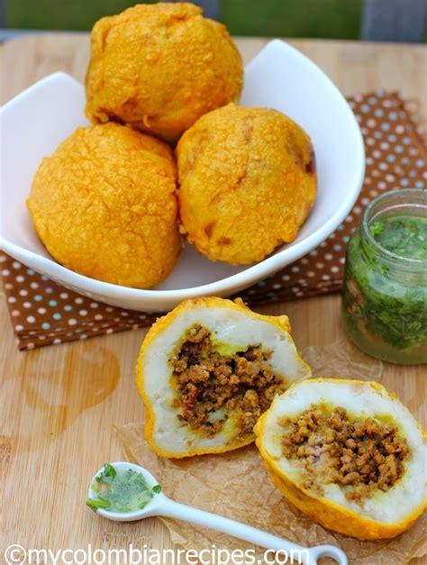 colombian style stuffed potatoes papas rellenas