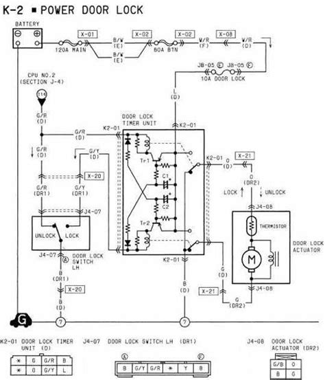 2011 Mazda 3 Wiring Diagram by 1994 Mazda Rx 7 Power Door Lock Wiring Diagram All About