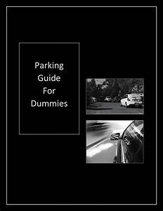 Parking Guide For Dummies By Nathan Braddon
