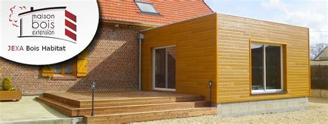maison bois amiens beauvais construction et agrandissement plan