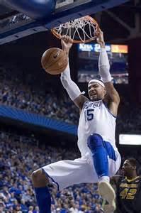 Willie Cauley-Stein Kentucky Wildcats Basketball Dunk