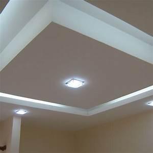 Abbassamento soffitto moderno : Cartongesso edilizia luminoso