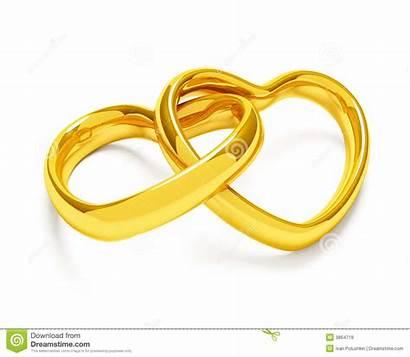 Gestalte Gegeven Ringen Gouden Hart