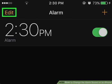 change alarm sound iphone how to change the alarm sound on an iphone 6 steps