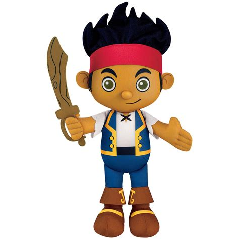 jake and the never land pirates toys plush talking jake at toystop