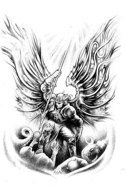 Jesse Santos - Book of angels | 43 photos | VK | tattoo | Tattoos, Holy tattoos, Archangel