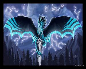 """Lightning Dragon - Dragon Totem"" Stickers by Kamakru ..."