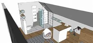Chambre Salle De Bain : amnager une salle de bain dans une chambre une chambre ~ Dailycaller-alerts.com Idées de Décoration