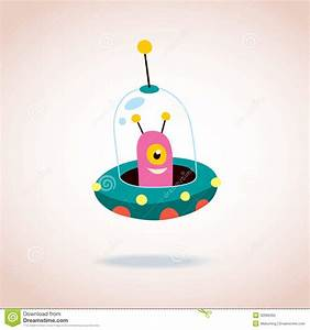 Cute Alien Character Royalty Free Stock Photo - Image ...