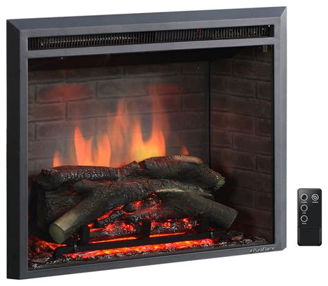 puraflame western electric fireplace insert  remote