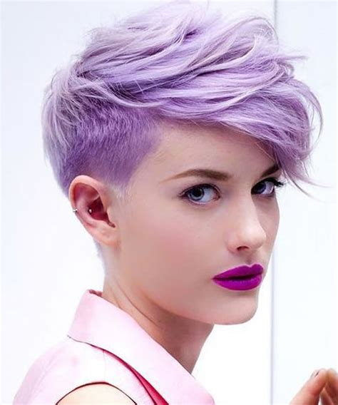 undercut short pixie hairstyles  ladies   hairstyles