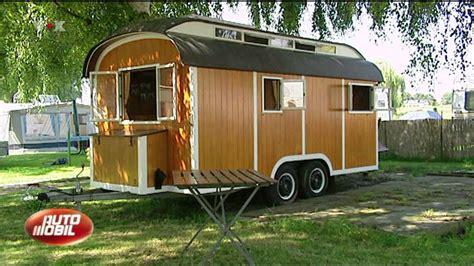 mini wohnwagen selber bauen anleitung tv beitrag 252 ber den holzcaravan und das holzwohnmobil