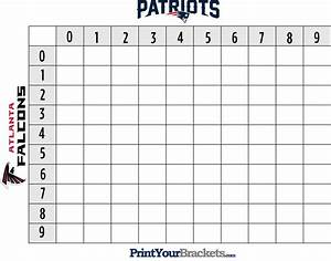 what you need to know to win super bowl boxes sports on With printable superbowl squares template