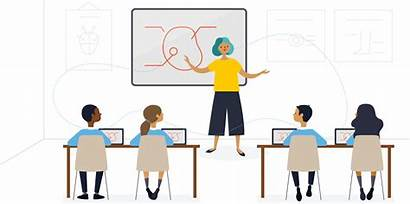 Classroom Screen Background Training Teacher Lecture Ctet
