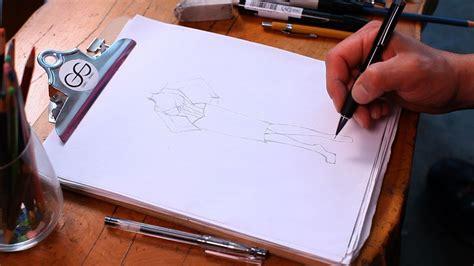 draw shoes fashion sketching youtube