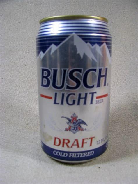 busch light new can busch light draft