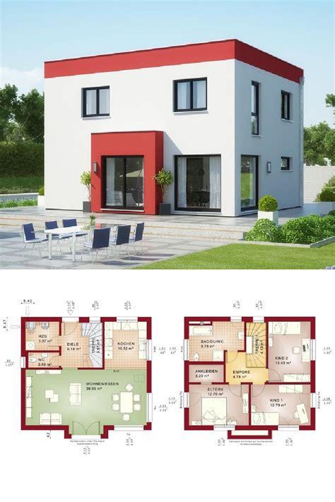 Moderne Häuser Architektur Grundriss by Stadtvilla Modern Im Bauhausstil Mit Flachdach Haus