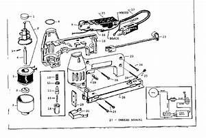 Craftsman Craftsman Electric Staple Tacker Parts