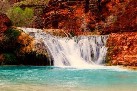arizona landscape waterfall  photo  pixabay