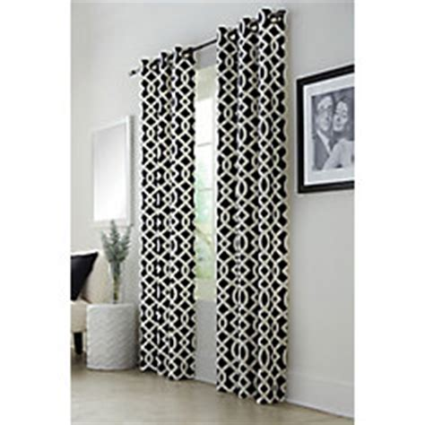 Thermalogic Curtains Home Depot by Thermalogic Trellis Grommet Navy 40 X 84 The Home