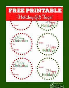 free printable holiday gift tags With free customizable printable tags