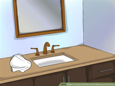 How To Clean And Maintain Bathroom Vanities