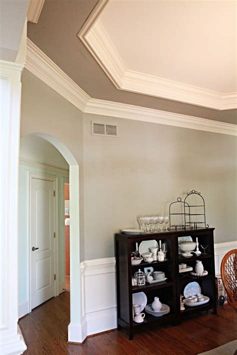 i painted again ceilings ceiling crown molding home decor room paint