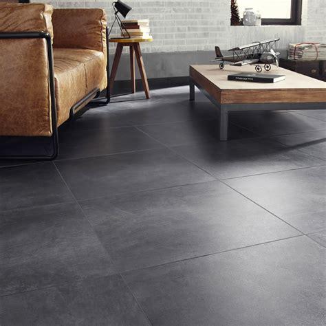 carrelage cuisine gris carrelage sol et mur gris smoke effet béton live l 60 x l