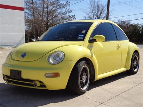 Find Used 2002 Vw New Beetle Tdi 1.9l Clear Title 45mpg