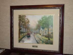 home interior prints kinkade home interior shop collectibles daily