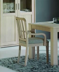 Chaise contemporaine avec accoudoirs brin d39ouest for Meuble salle À manger avec chaise contemporaine