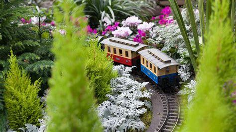 garden train bing wallpaper