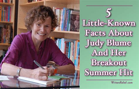 5 Little-known Facts About Judy Blume And Her Breakout