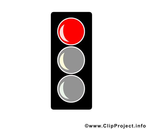 Rote Ampel Clipart