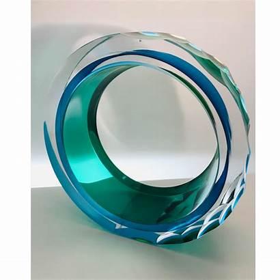 Glass Contemporary Sculpture Sculptures Graeme Hawes