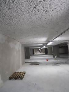 Isoler Plafond Sous Sol : lovisolo isolation isolation thermique par projection sous sol parking plafond ~ Nature-et-papiers.com Idées de Décoration