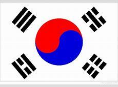 National Flag Of South Korea 123Countriescom