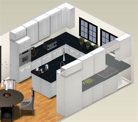 examples   shaped kitchen layouts kitchen layout  shaped kitchen layout plans small