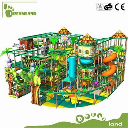 Playground Indoor Ocean Amusement Cube Magic Theme
