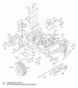 Woods 6160 Mow U0026 39 N Machine Tractor Assembly Central