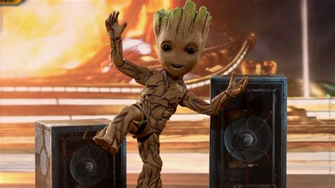 Let Another Life-Size Baby Groot Dance Into Your Heart ...