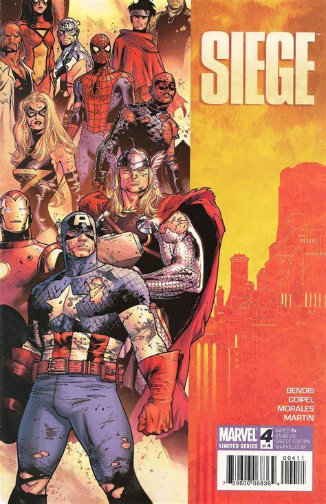 marvel siege siege vol 1 4 marvel database