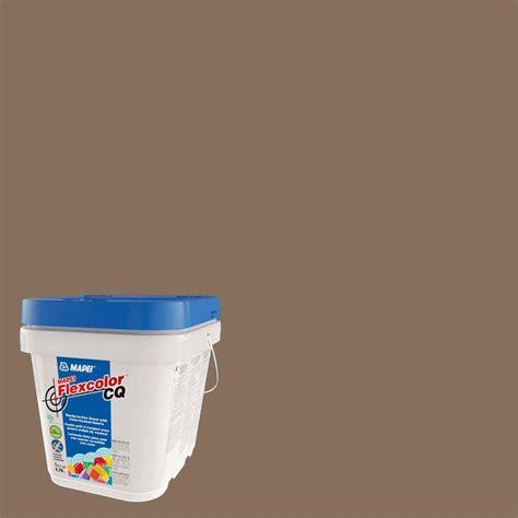 mocha grout mapei flexcolor cq mocha 1 gal grout 54201 the home depot