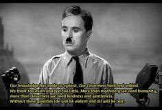 The Great Dictator Charlie Chaplin Famous Quotes. QuotesGram