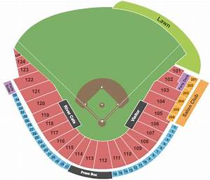 Raley Field Seating Diagram